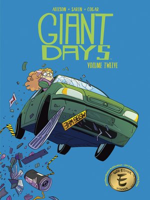 cover image of Giant Days (2015), Volume 12