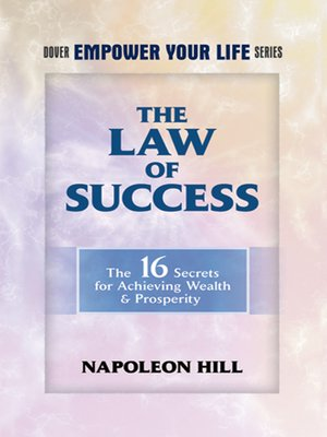 cover image of The Law of Success