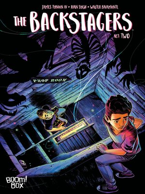 cover image of The Backstagers (2016), Issue 2