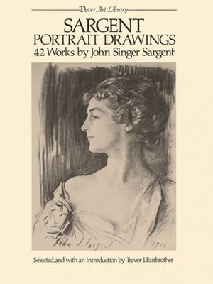 cover image of Sargent Portrait Drawings