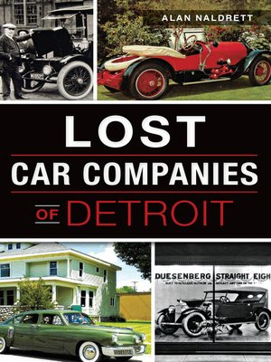 cover image of Lost Car Companies of Detroit