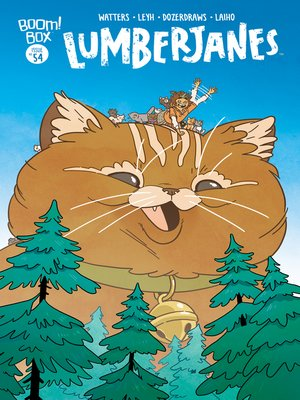 cover image of Lumberjanes, Issue 54