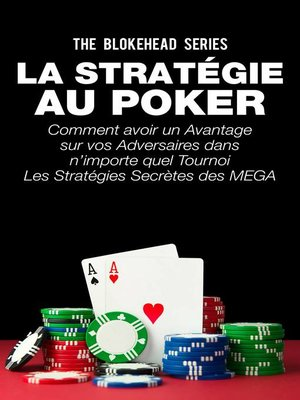 cover image of La stratégie au poker