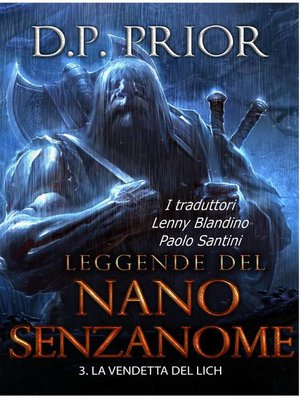 cover image of La Vendetta del Lich