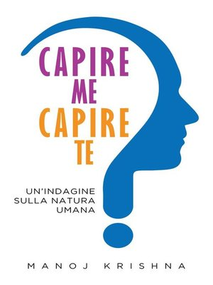 cover image of Capire me, Capire te