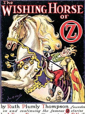 cover image of The Wishing Horse of Oz