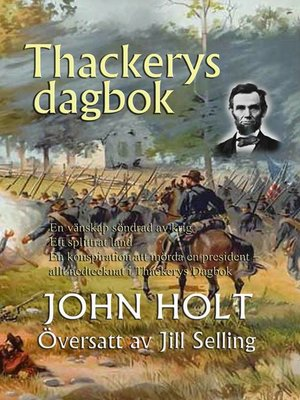 cover image of Thackerys dagbok