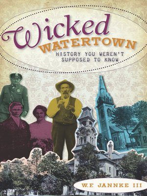 cover image of Wicked Watertown