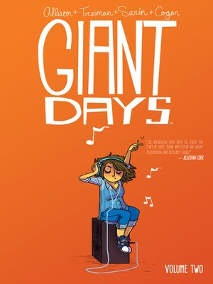 cover image of Giant Days (2015), Volume 2