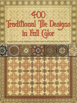 cover image of 400 Traditional Tile Designs in Full Color
