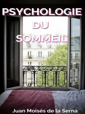 cover image of Psychologie du Sommeil