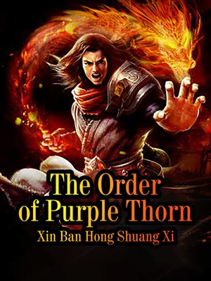 cover image of The Order of Purple Thorn