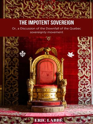 cover image of The impotent Sovereign