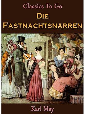cover image of Die Fastnachtsnarren
