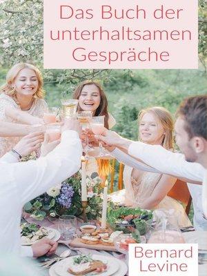 cover image of Das Buch der unterhaltsamen Gespräche