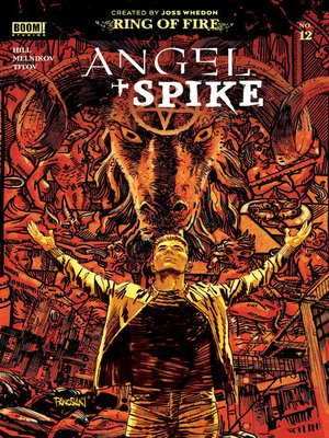 cover image of Angel & Spike Issue 12