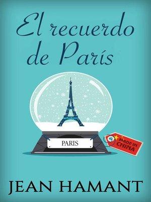 cover image of El recuerdo de París