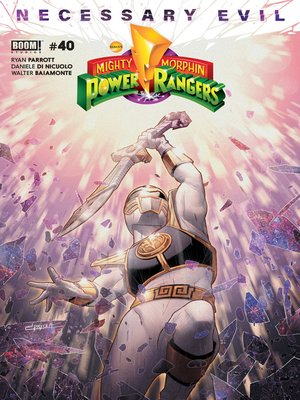 cover image of Mighty Morphin Power Rangers, Issue 40