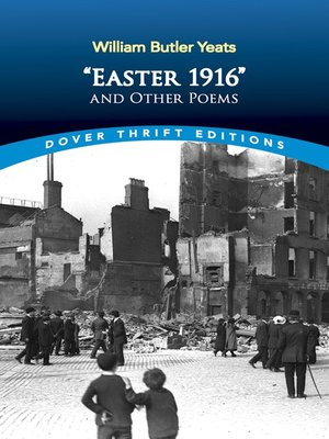 "cover image of ""Easter 1916"" and Other Poems"