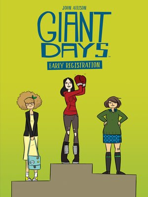 cover image of Giant Days: Early Registration
