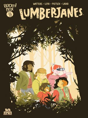cover image of Lumberjanes #22