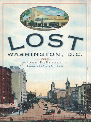 cover image of Lost Washington, D.C.