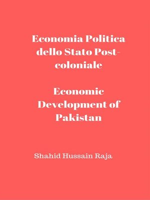 cover image of Economia Politica dello Stato Post-coloniale