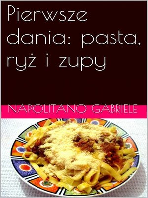 cover image of Pierwsze dania
