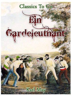 cover image of Ein Gardeleutnant