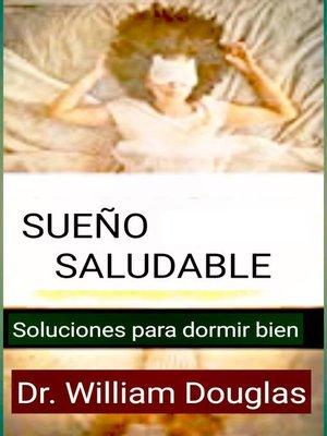 cover image of Sueño  saludable