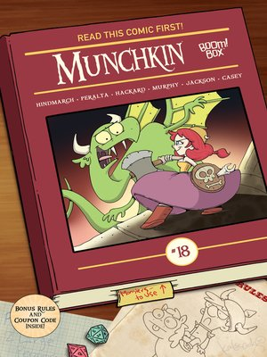 cover image of Munchkin (2015), Issue 18