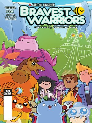 cover image of Bravest Warriors #36