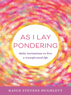 cover image of As I Lay Pondering