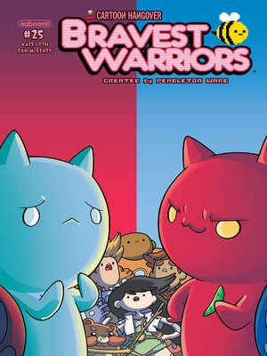 cover image of Bravest Warriors (2012), Issue 25