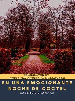 cover image of En una emocionante noche de coctel