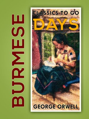 cover image of Burmese Days
