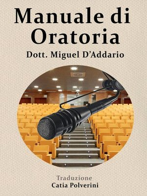 cover image of Manuale di oratoria