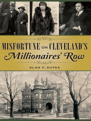cover image of Misfortune on Cleveland's Millionaires' Row