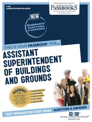 cover image of Assistant Superintendent of Buildings & Grounds