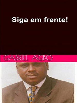 cover image of Siga em frente!