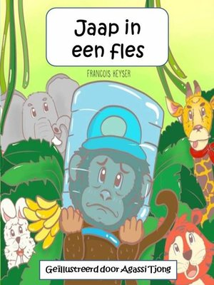 cover image of Jaap in een fles