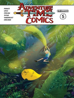 cover image of Adventure Time Comics #5