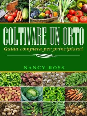 cover image of Coltivare un orto