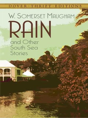 cover image of Rain and Other South Sea Stories