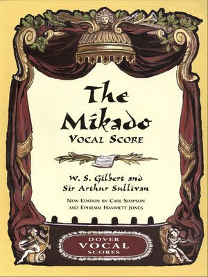 cover image of Mikado Vocal Score