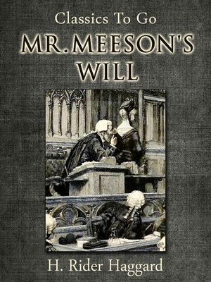 cover image of Mr. Meeson's Will