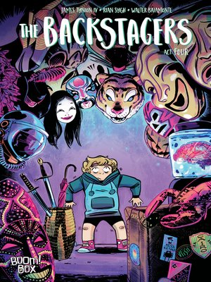 cover image of The Backstagers (2016), Issue 4