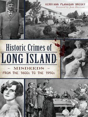 cover image of Historic Crimes of Long Island