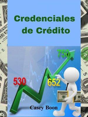 cover image of Credenciales de Crédito