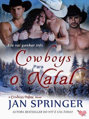 cover image of Cowboys para o Natal